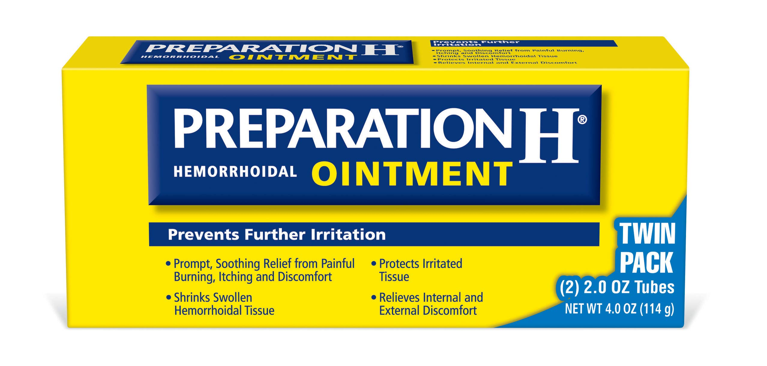 Preparation H Hemorrhoidal Ointment, 2-Ounce (Pack of 6) by Preparation H