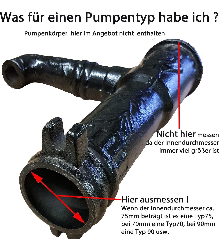 Lederdichtung Typ 75 Für Schwengelpumpe Gartenpumpe Handpumpe