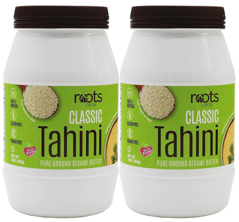 Pasta de tahini de sésamo natural 100% pura para semillas de ...