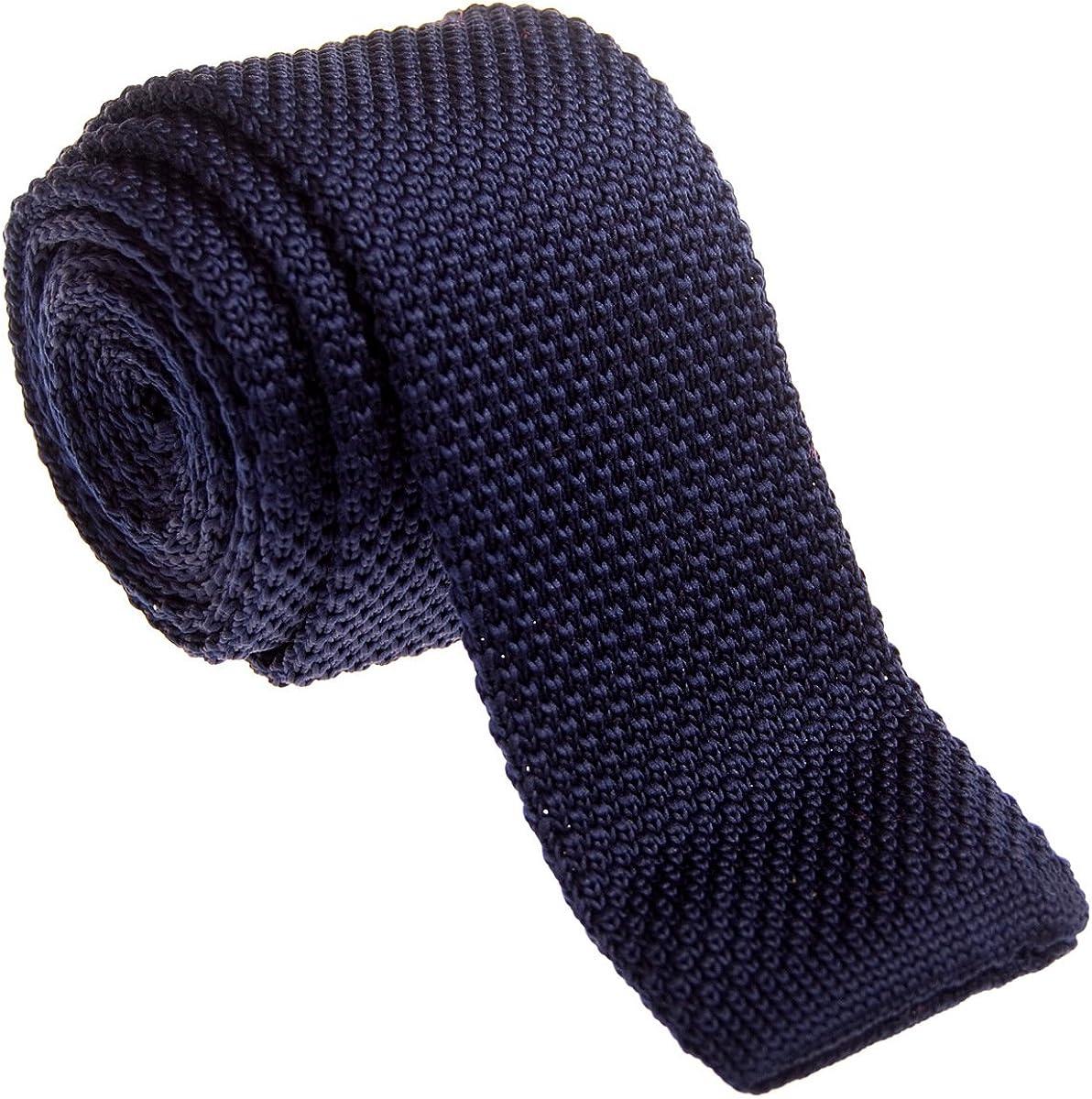Retreez - corbata vintage de punto, elegante, informal, de 5 cm, para hombre –varios colores
