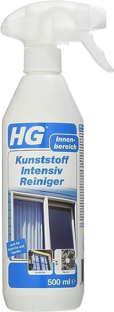 Hg Kunststoff Intensiv Reiniger 500 Ml Ein Kunststoffreiniger Zur Schnellen Effektiven Reinigung Von Kunststoffen Aller Art Drogerie Körperpflege