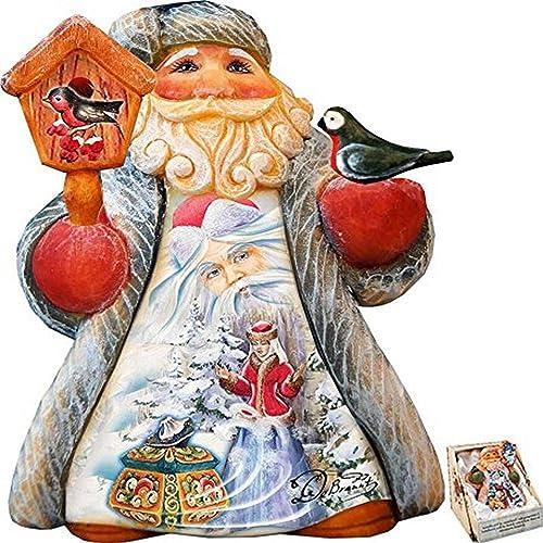G. Debrekht Mini Tale Illustrated Santa Morozko Figurine
