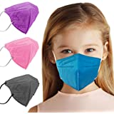5 Layer Protection Breathable Kids Face Mask (Sapphire Blue) M95c - Made in USA - Designed for Children | Filtration>95% with