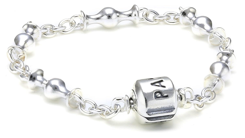 braccialetti donna pandora argento
