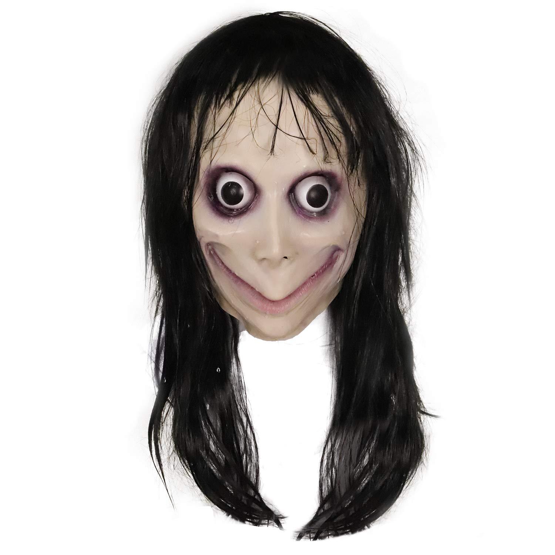 Mascara de momo terror