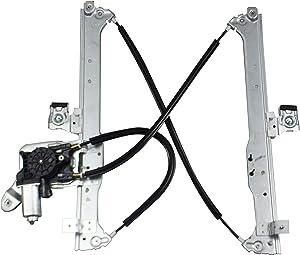 BOXI Rear Right Passenger Side Power Window Regulator with Motor for Chevrolet Suburban & Avalanche 1500/2500 & Silverado 1500/2500 HD Classic| GMC Yukon XL 1500/2500 &Sierra 3500| Escalade 15135971