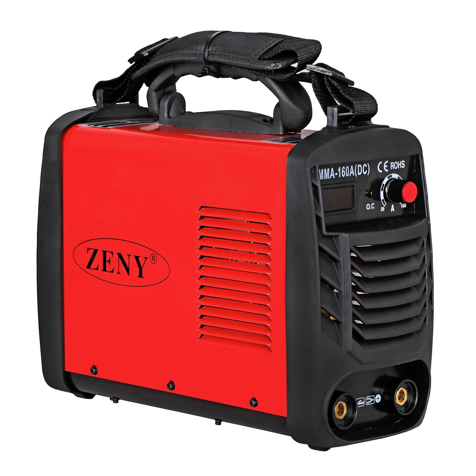 ZENY Arc Welding Machine DC Inverter Handheld Welder MMA 20-160A IGBT 110V/230V Dual Voltage IGBT Stick by ZENY (Image #8)