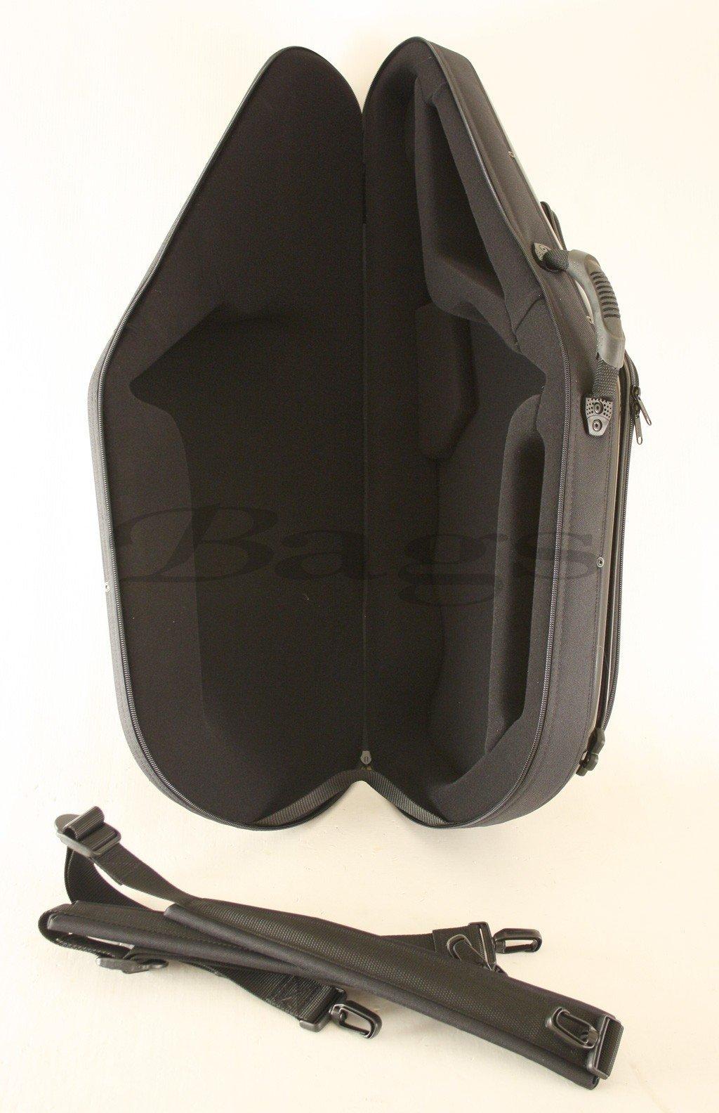 ESTUCHE SAXOFON TENOR - Bags (30607) Todofibra (Mochila y Asa con Compartimientos) Negro