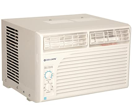 Cool Living 5,000 BTU 9.7 EER 115V Window Mount Room Air Conditioner AC Unit