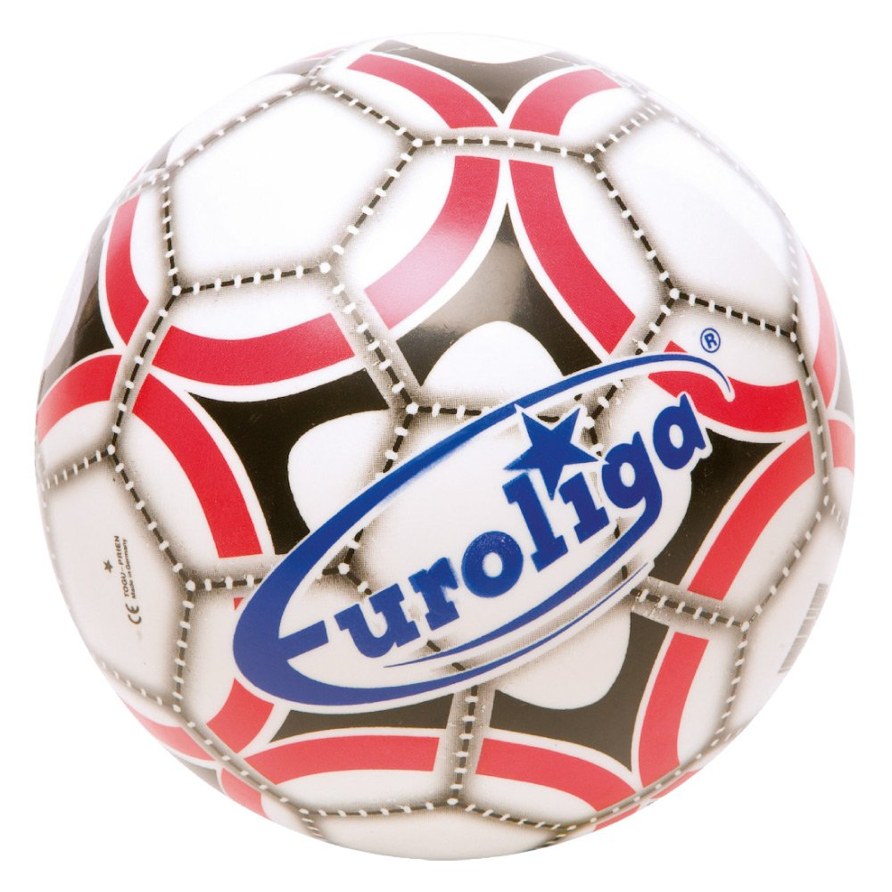 TOGU Euroliga 138002 - Balón de fútbol, 23 cm, Multicolor: Amazon ...