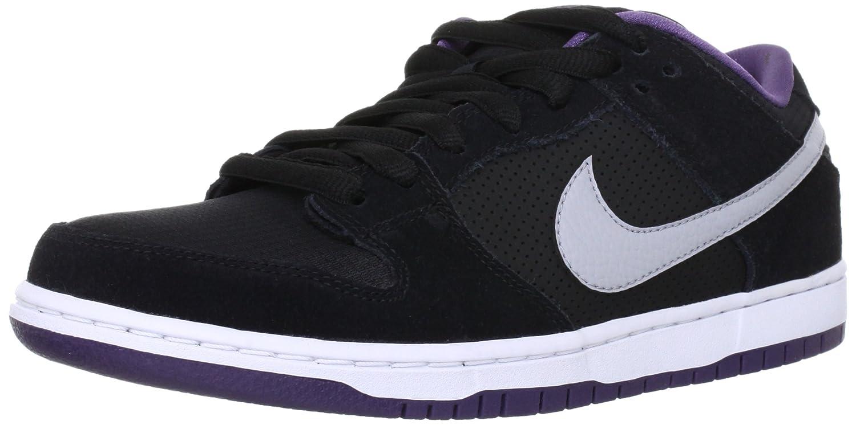 newest f6901 4f5cb Amazon.com   Nike Men s Dunk Low Pro SB Black Wolf Grey Canyon Purple Skate  Shoe 9.5 Men US   Fashion Sneakers