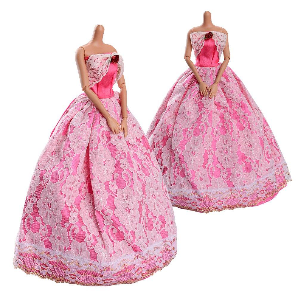 Amazon.es: ASIV 5 Piezas Vestidos de Novia, 12 pares de zapatos de ...