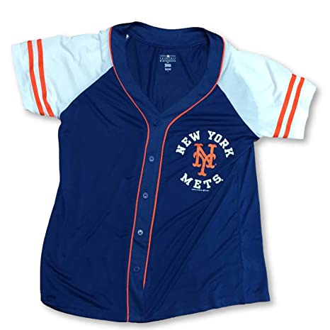 sale retailer b2ec3 9fa40 Amazon.com : Campus Lifestyle New York Mets Button Down ...