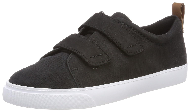 Clarks Glove Daisy, Zapatillas para Mujer 40 EU|Negro (Black Combi Nbk)