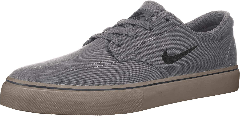 SB Clutch Skate Shoe, Dark Grey/Black