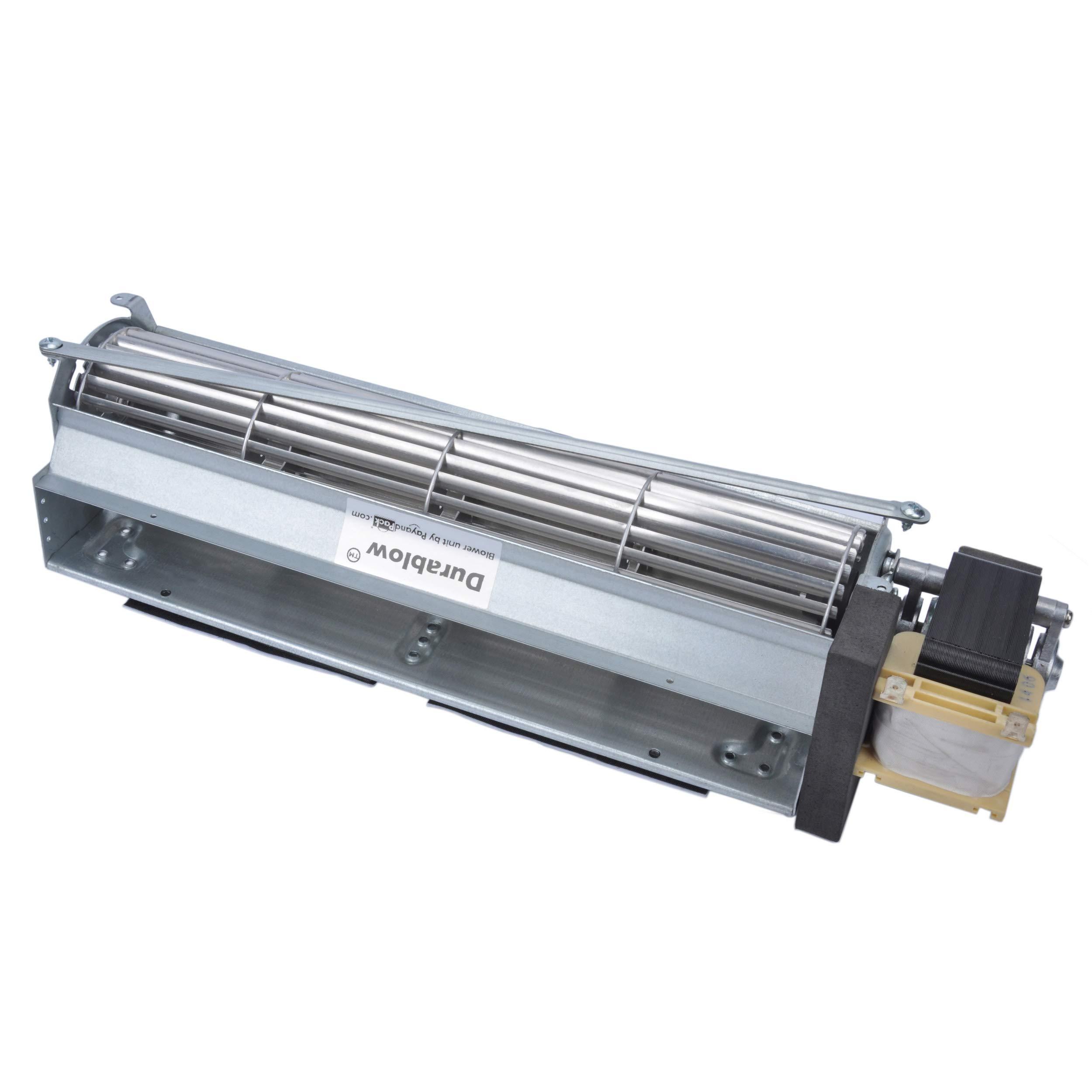 Durablow MFB010 BK BKT GA3650 GA3700 GA3750 Replacment Fireplace Blower Fan Unit for Desa, FMI, Vanguard, Vexar, Comfort Flame Glow, Rotom by Durablow