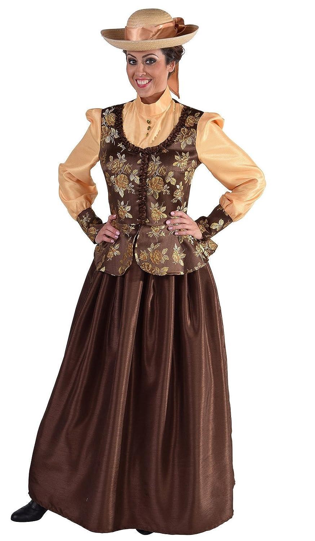 Narrenkiste M216171-XXL braun Damen Rokoko Kostüm Viktorianische Dame Gr.XXL