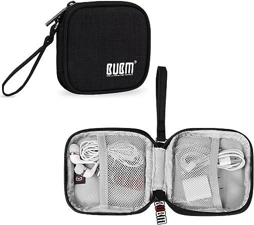BUBM Bolsa para Auriculares Organizador para Cables USB Estuche para Memoria de USB: Amazon.es: Electrónica