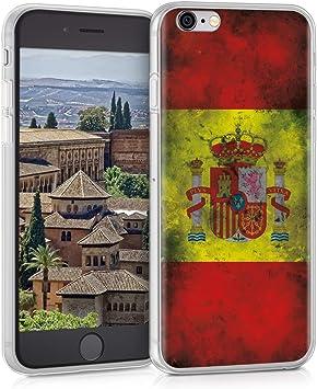 kwmobile Funda Compatible con Apple iPhone 6 / 6S: Amazon.es ...