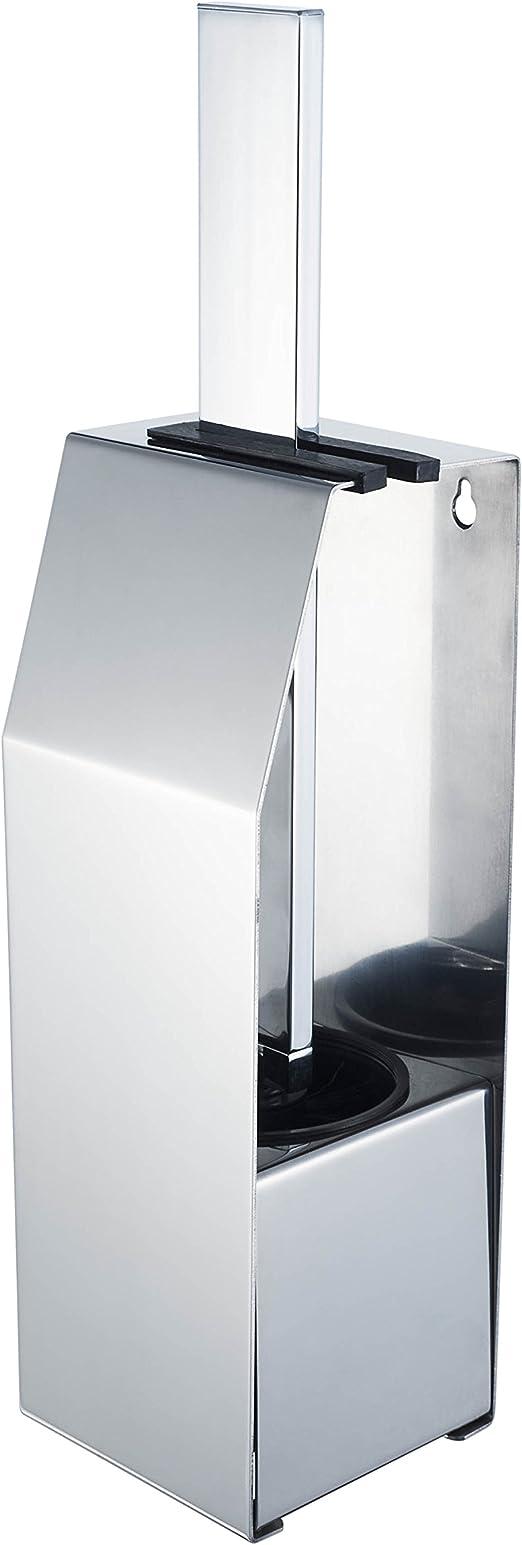 HACEKA Edge Toilettenbürste freistehend verchromt