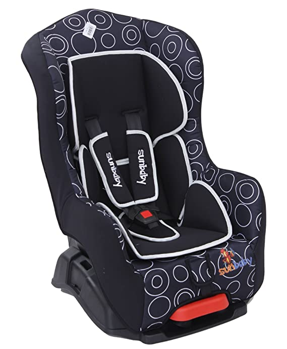 Sunbaby Orion Car Seat Without Bumper (Black)