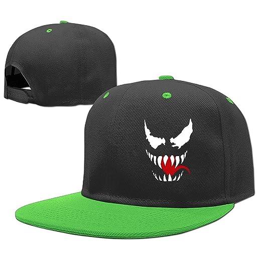 6791b9034dfc6 Amazon.com  Venom Face Logo Kids Classic Hip-Hop Baseball Caps ...