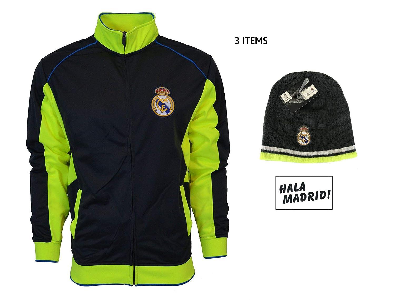 Amazon.com: Real Madrid chamarra de mercancía oficial para ...