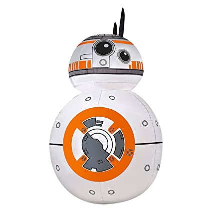 star wars bb 8 airblown inflatable 42 lighted christmas decoration 2016 - Star Wars Blow Up Christmas Decorations