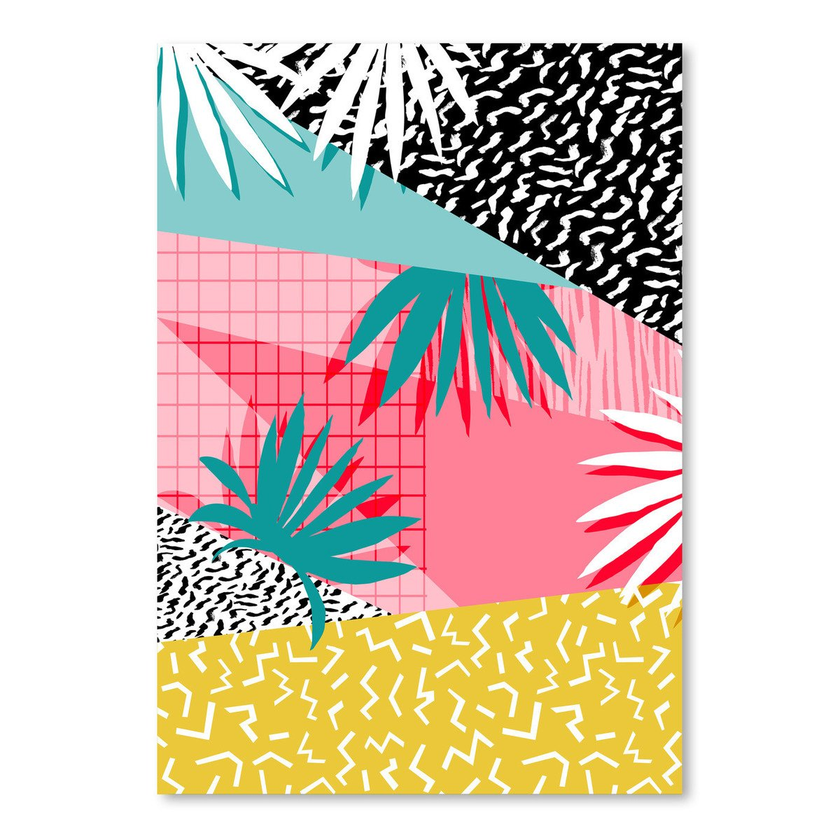 Americanflat Bingo Poster Print by Wacka Designs, 18'' H x 24'' W x 0.1'' D by Americanflat