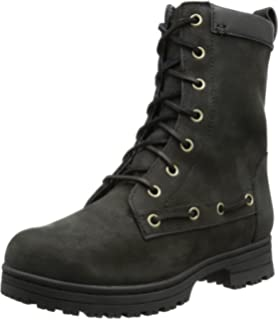 SEBAGO Nashoba, Bottes Chelsea Femme, (Black Leather), 35 EU