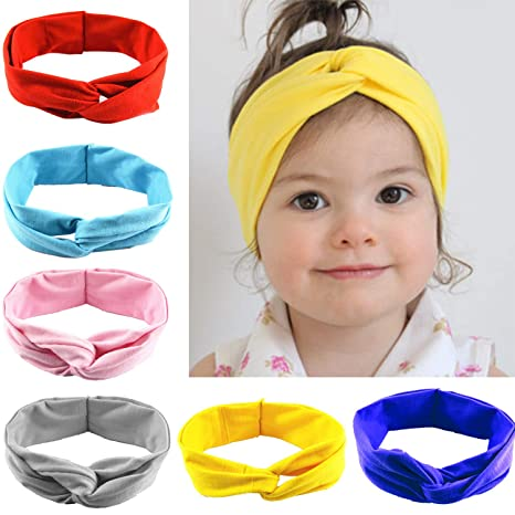 Buy 5-6 Packs Baby Headbands - Girls Cute Turban Headband Head wrap Knotted  Hair Band Online at Low Prices in India - Amazon.in 7c96dcbd977