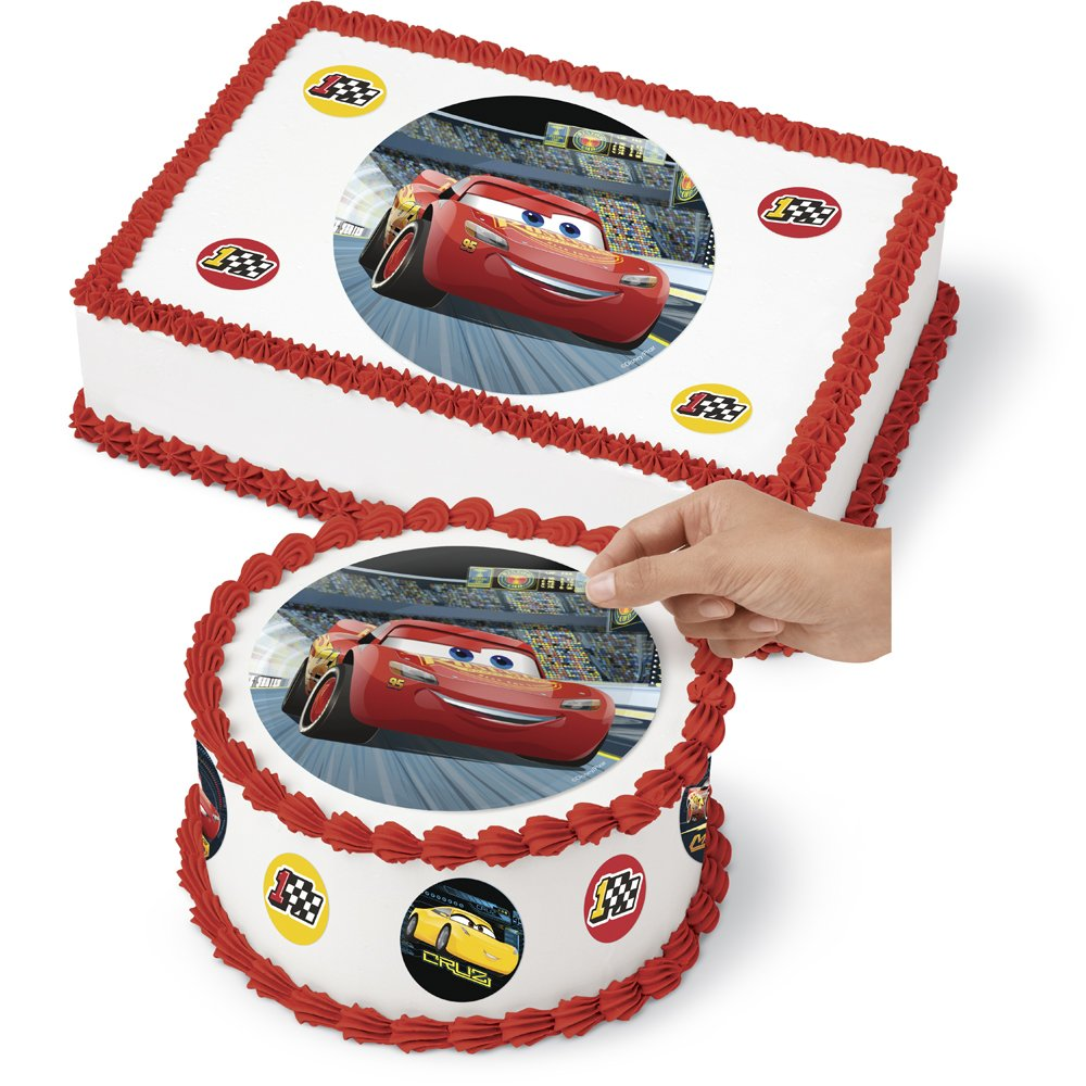 Disney Cars Cake Wraps Edible Image Sugar Sheet Designer Prints
