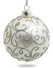 d31e3be0c9d1b Sikora Kit de 4 Bolas de Navidad Adorno para el Árbol  Highlight  -