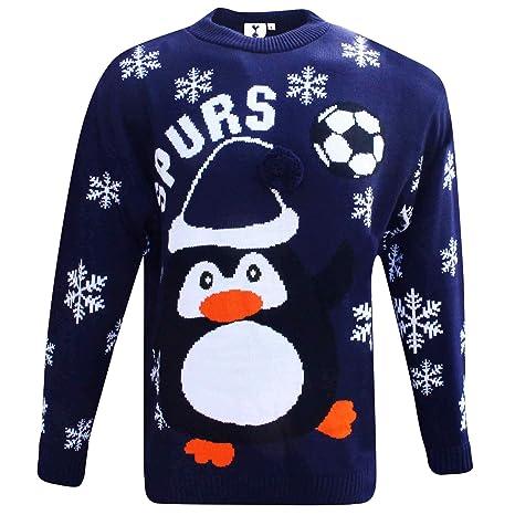 75ed476aaea Official Tottenham Hotspur (Spurs) Soccer Christmas Jumper (Sizes S to 3XL)  (