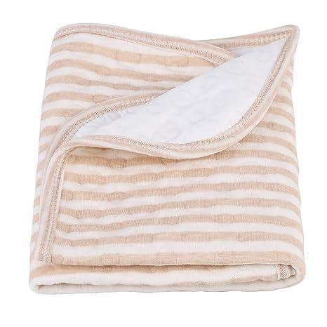 A Cambiador Portatil de Pa/ñales para Beb/é productos de aislamiento de algod/ón Almohadilla para orina impermeable Pa/ñal para beb/és Ropa de cama para cambiar de funda para 0-3 a/ños