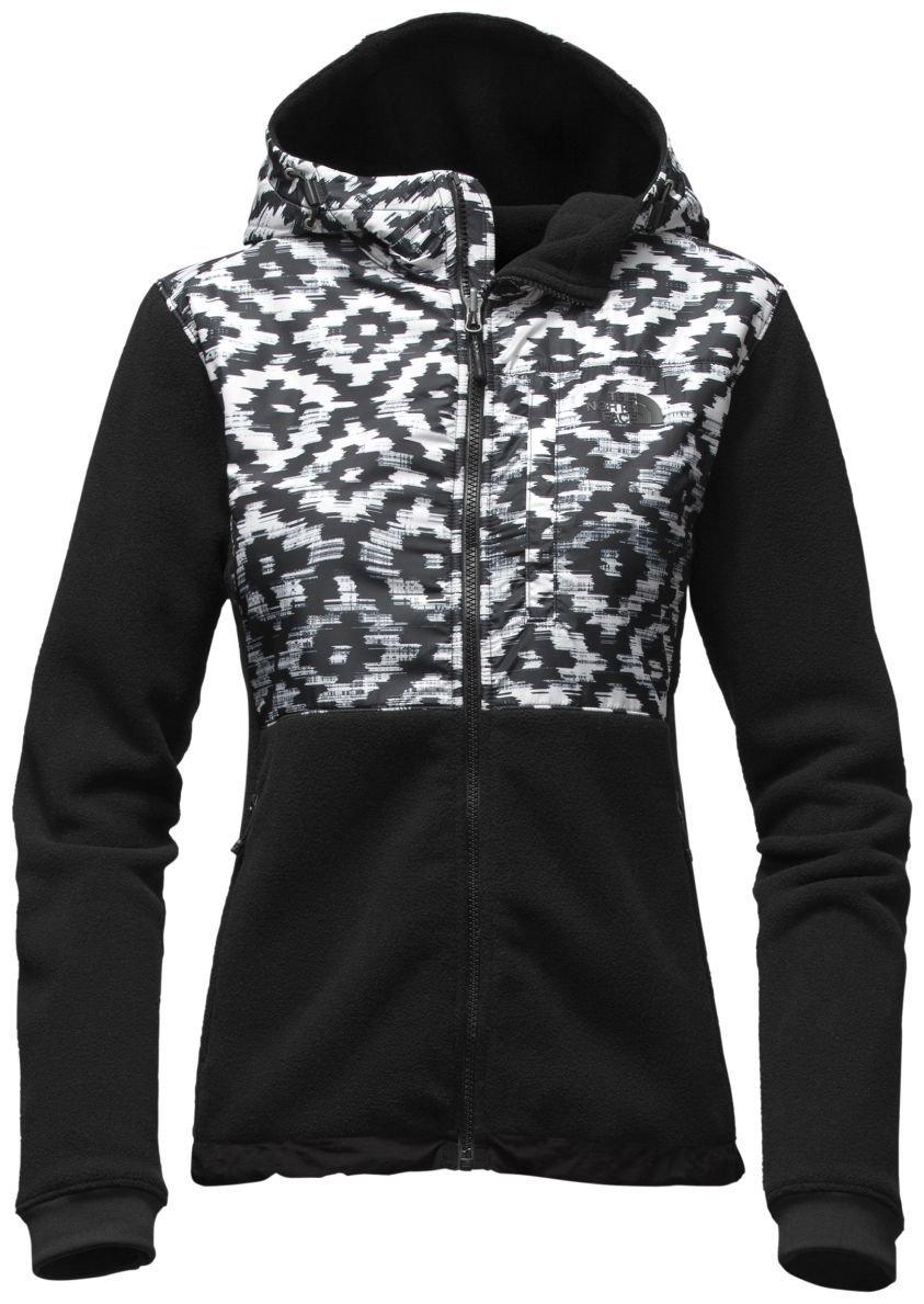 The North Face Denali Hoodie Jacket - Women's TNF Black D-Kat Print/TNF Black X-Small