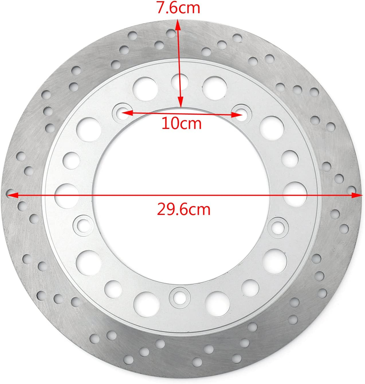 Artudatech Front Brake Disc Rotor for Hon-da Steed 400 92-97 VT600 Shadow VLX 99-07 FT500C Shadow