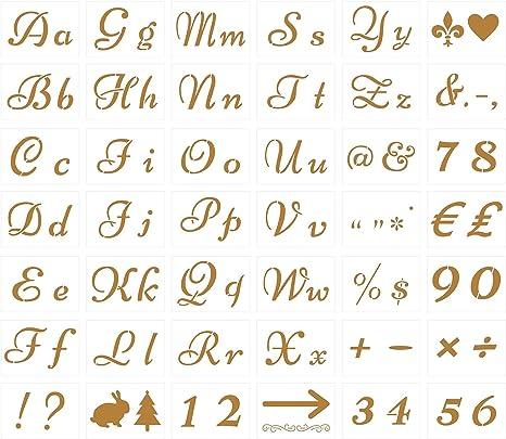 Aushöhlen Zeichen Malen Schablone Schreibwaren Lineal Zahlen Leben Element DIY