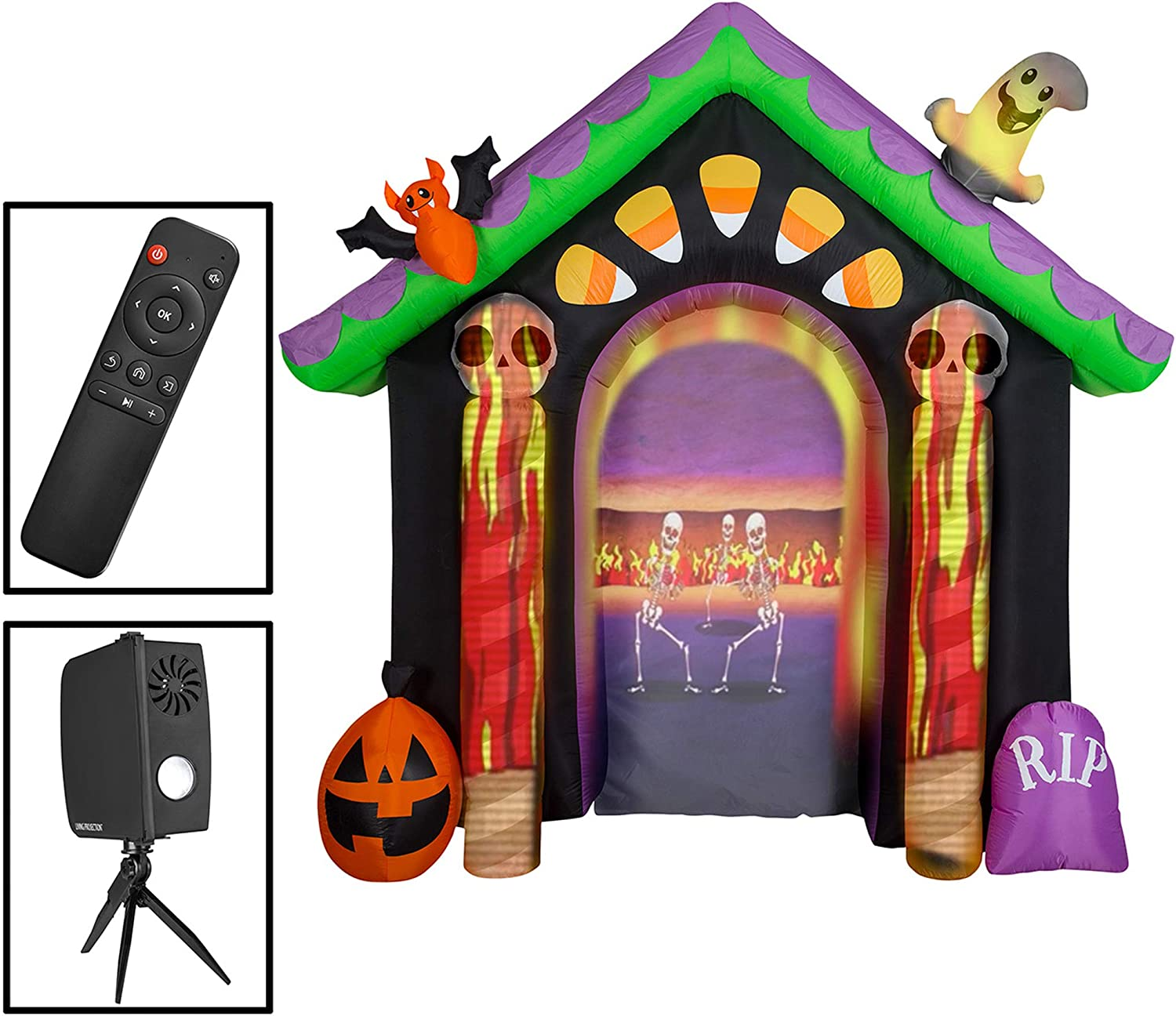 Haunted House Outdoor Inflatables
