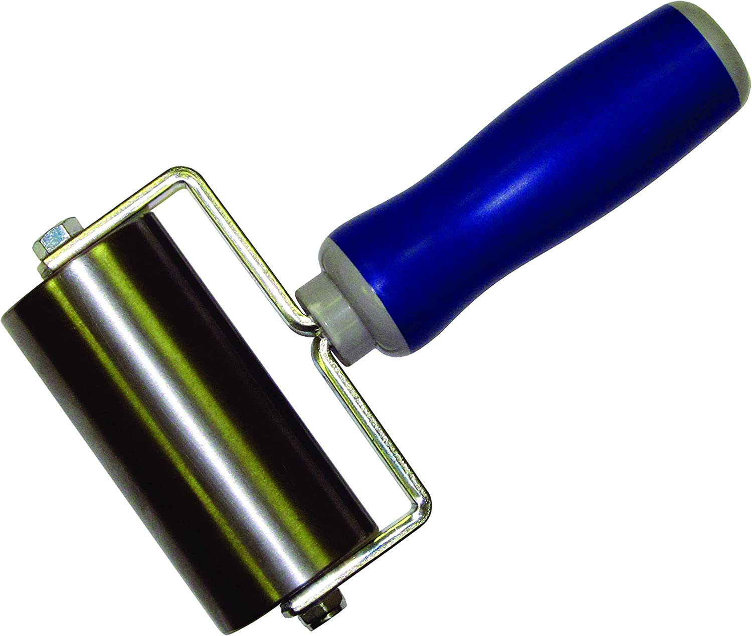 2 x 2 NEICOTOOLS Heavy Duty Outside Radius Steel Seam Roller for RV Roofing Tape and Vinyl Plank Flooring