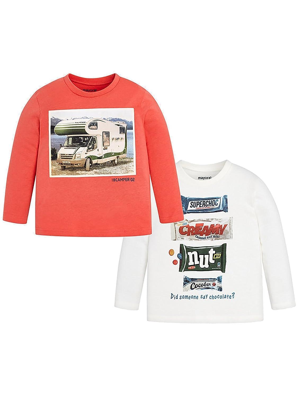 Mayoral 18-04032-055 - Camiseta Manga Larga para niño 2 años ...
