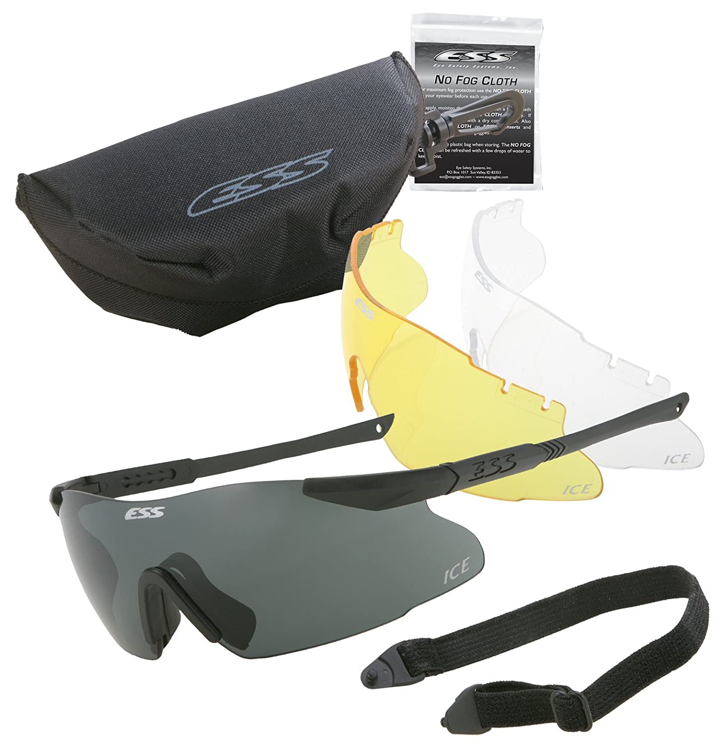 ESS Eyepro ToughZone 2.4mm Shatterproof Polycarbonate ICE Replacement Lens