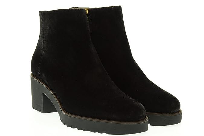 HOGAN Damen Stiefelabsatz HXW2770T330BYEB999 ROUTE 277 ZIP-HALB 40 Nero:  Amazon.de: Schuhe & Handtaschen
