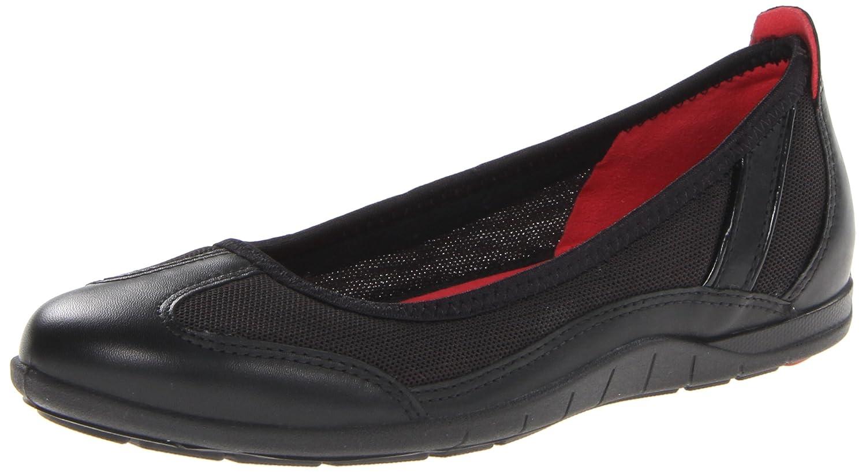 Black ECCO shoes Women's bluema Ballerina Flat