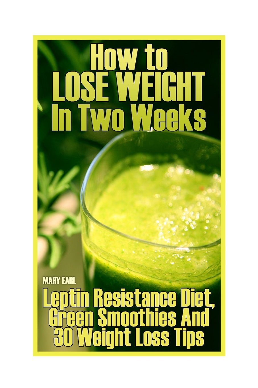 Download How to Lose Weight In Two Weeks: Leptin Resistance Diet, Green Smoothies And 30 Weight Loss Tips: (Healthy Living, Healthy Habits) ebook