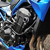OES Front and Rear Frame Sliders 2017 2018 Kawasaki Z900 Blue