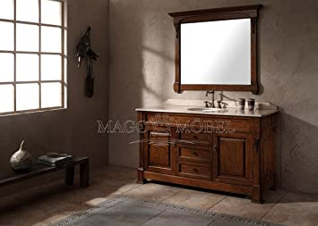 Waschtischunterschrank holz antik  Doppelwaschtisch Antik | gispatcher.com