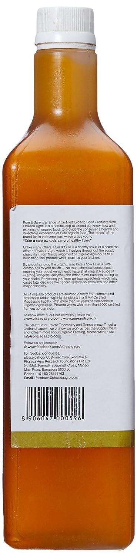 Pure and Sure Organic Mustard Oil, 1L