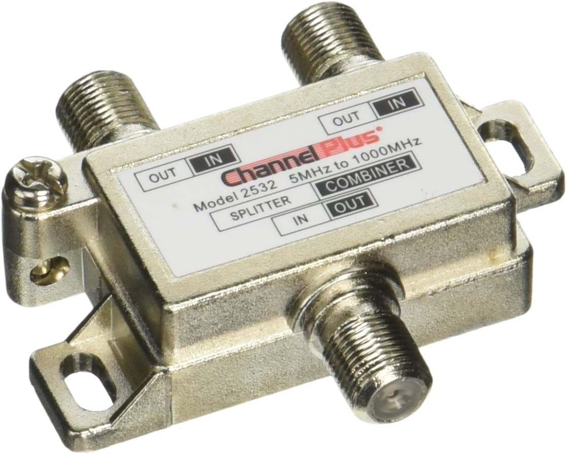 2 Way Channel Plus Dc And Ir Passing Splitter And Combiner