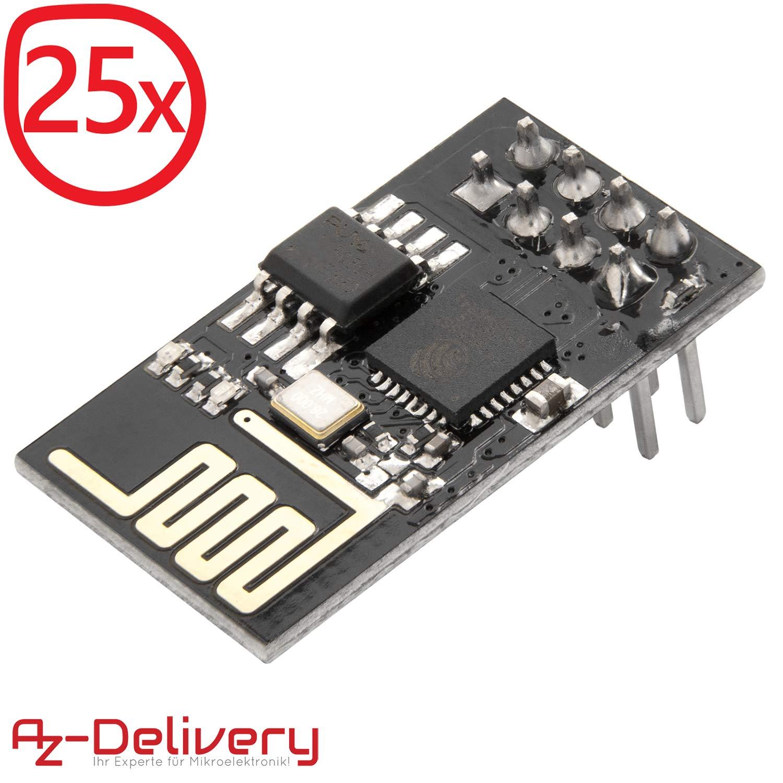 AZDelivery ESP8266 ESP-01S Módulo Wi-Fi/WiFi para Arduino y ...